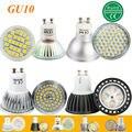 1 pcs Super Bright 3 W 4 W 5 W 6 W 7 W GU10 Lâmpada LED Local Lâmpada luz 110 V 220 V GU10 Dimmable SMD 5050 2835 Iluminação Quente Frio branco