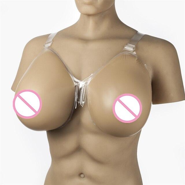 Men against fake boobs