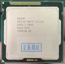 Procesor intel Core i3-2130 I3 2130 (pamięć podręczna 3 M, 3.40 GHz) LGA1155 dwurdzeniowy procesor komputer stancjonarny