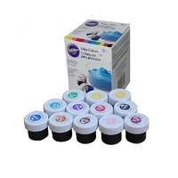 Wilton cake pigment fondant cake pigment color paste food baking tools 12 color pigment Free shipping