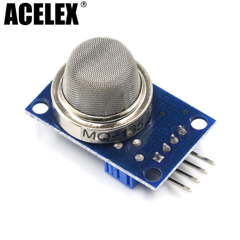 1PCS  Mounting Base White Socket MQ2//MQ3//MQ7//MQ9//MQ135 Gas Sensors For Arduino