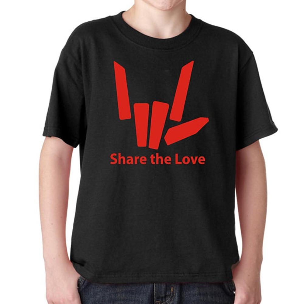 Partager le youtuber Love Filles Garçons Enfants Sweat à capuche Sweat à Capuche T Shirt Tee Top Gold Print