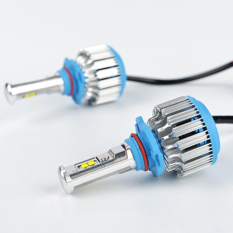 Prix pour Super Bright Led Auto Phare H4 H7 H1 9005 H11 9004 HB1 haut Bas ADOB Faisceau Turbo Led Phare De Voiture DRL Lumière Principale 6000 K ampoule