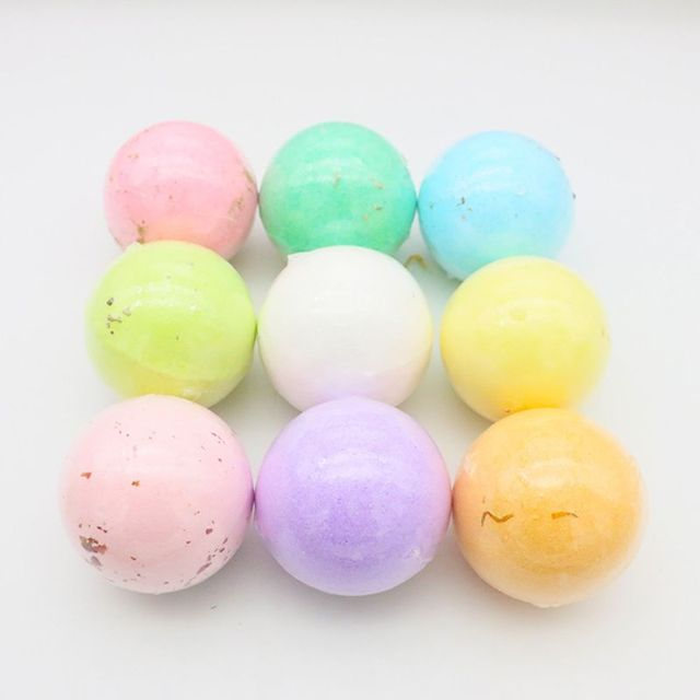4Pcs/Box Deep Sea Bath Salt Dried Flower Essential Oil Body Bubble SPA Bath Bomb Ball Aromatherapy Dry Skin Moisturize Gift 1