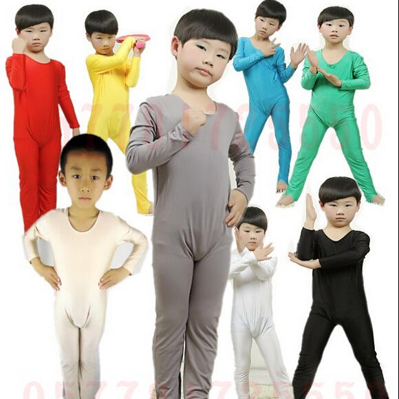 Stretchable Spandex Lycra Muti Colors Girls Gymnastics Clothing Children / Ballet Dance Gymnastics Leotard For Kids