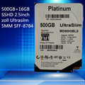 Platinum 500 gb + 16 GB SSHD 2.5 pulgadas SFF-8784 Ultradelgado de 5 MM 16 MB 5400 RPM SATA Garantía Expresa $ number año
