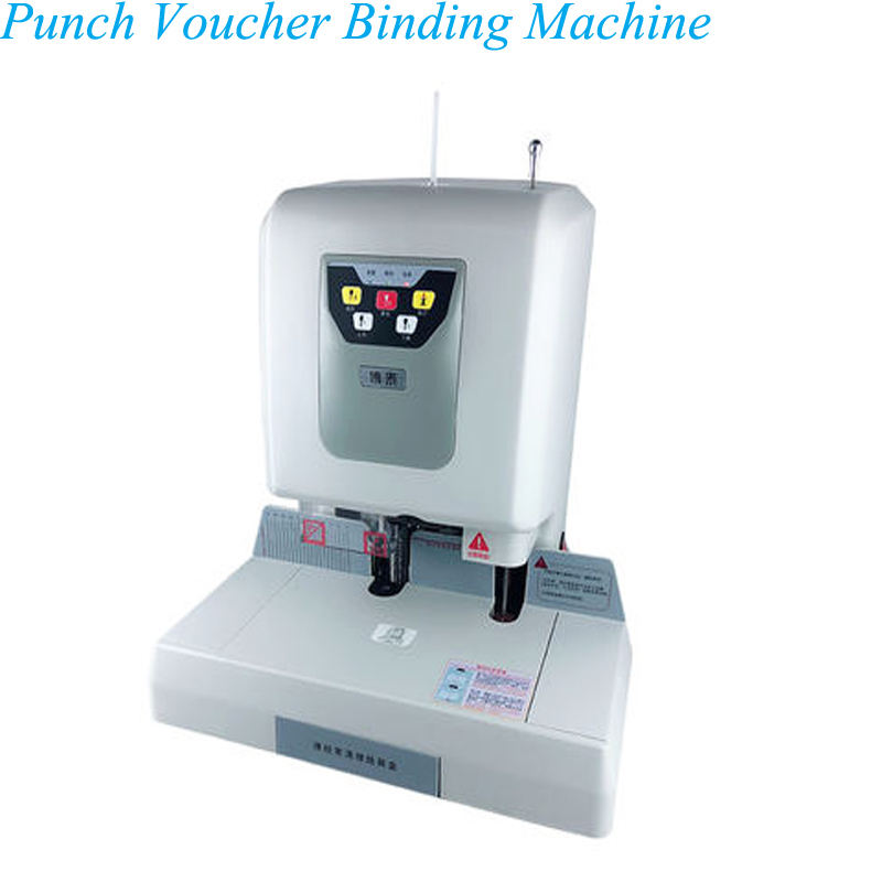 YUNLINLI Automatic Hole Punch Financial Accounting Hot Melt Binding Machine BT608B|Machine Centre| |  - title=