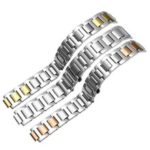 22*14mm  20*12mm 18*11mm  14*9mm  14*8mm Stainless Steel Watchband For 21 Chronoscaph & Autoscaph  Watch Strap Band Watchband цена