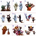 Разнообразие опционально Мир Сказки Valley Mall Velvet Зверином Стиле Finger Puppets Hand Pupprts Набор для детей детские игрушки