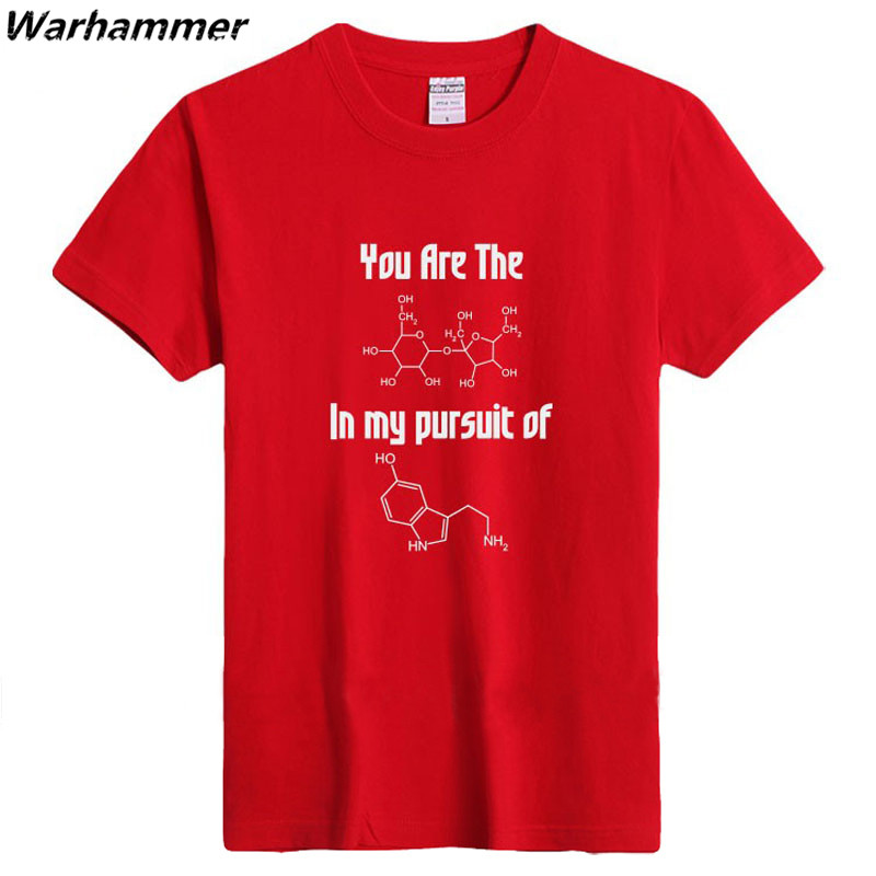 2017 font b Science b font College T shirt Men Pure Cotton School Funny T shirt