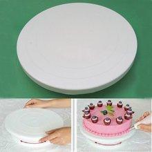 Küche Rotierenden Icing Cake deco Drehteller Display-ständer Sugarcraft Werkzeug 03106