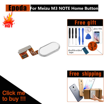 Meizu M3 Note Button Fingerprint Ribbon Identification Sensor Flex Cable Replacement Parts / Meizu M3 Note L681H Home Button 1