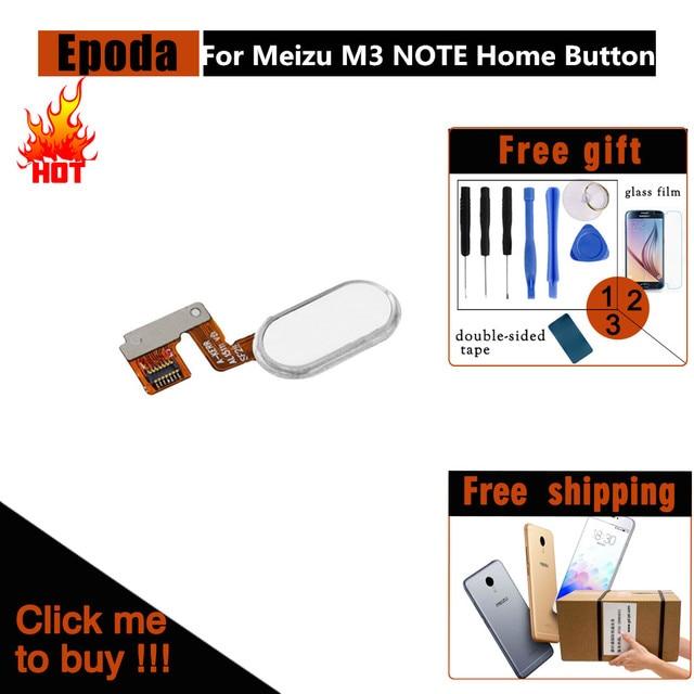 Meizu M3 Примечание отпечатков пальцев идентификации ленты Сенсор шлейф Запчасти для Авто/Meizu M3 Примечание L681H Главная Кнопка