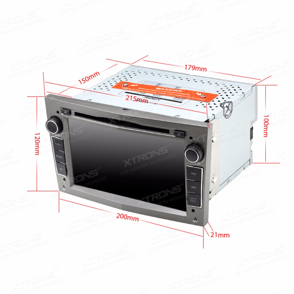 Xtrons 2 Din 7 Radio Android 60 Car Dvd Player Gps Navigation For Vauxhall Wiring Diagram Opel Astra H 2004 2005 2006 2007 2008 2009 2010 In Multimedia From