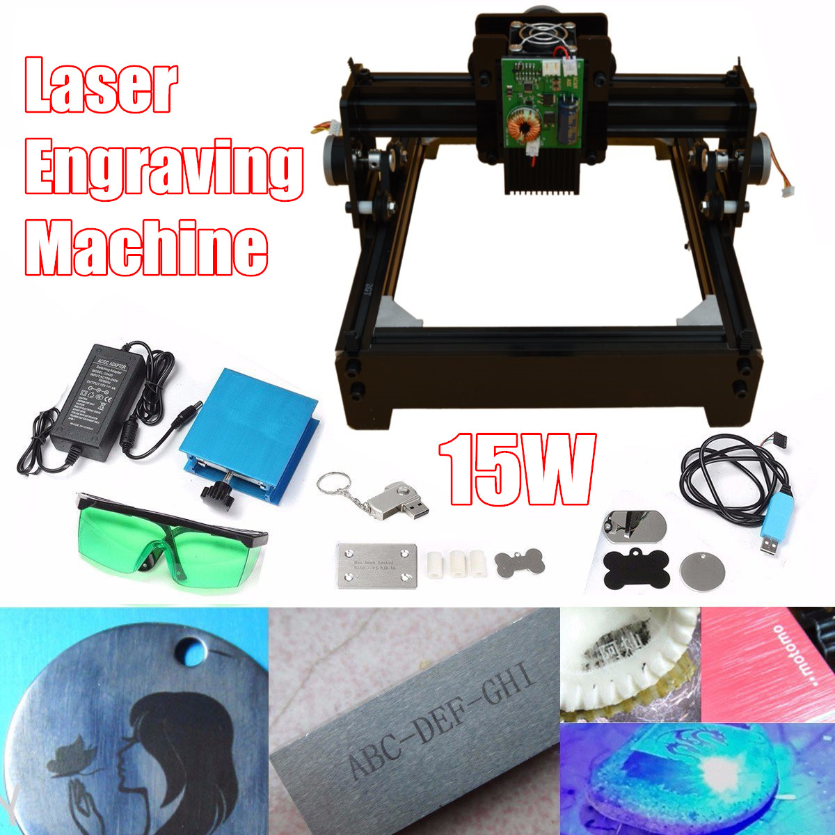 15W DIY Mini CNC Laser Engraving Machine CNC Crouter CNC Laser cutter Wood Router Metal Marking Engraving 2018 Best Advanced Toy цены