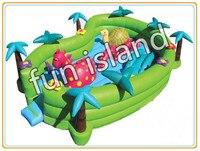 Best качество надувные fun city/парк развлечений Горячая распродажа!
