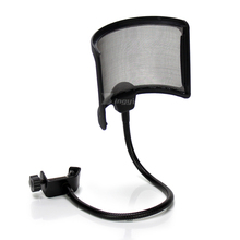 Universal Shock Mount Condenser Mic Stand Studio Microphone Shield Windscreen Pop Filter For Broadcast Recording KSM44A KSM353 ps 2 double layer studio microphone mic wind screen pop filter swivel mount mask shied for speaking recording stand