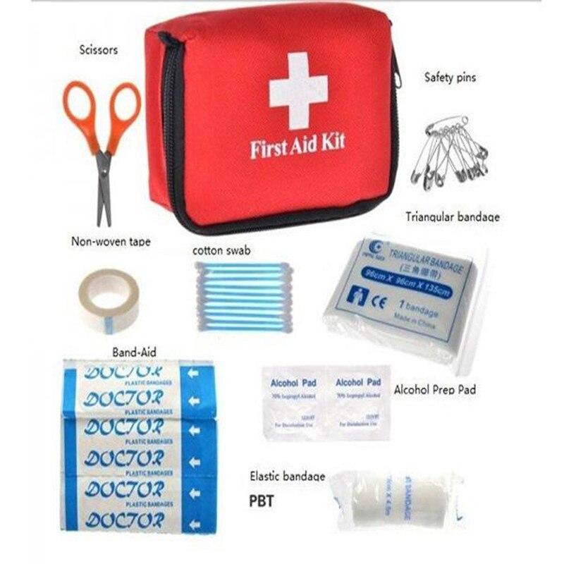 Botiquín de primeros Auxilios Bolsa de Tratamiento Médico de Emergencia Herramie