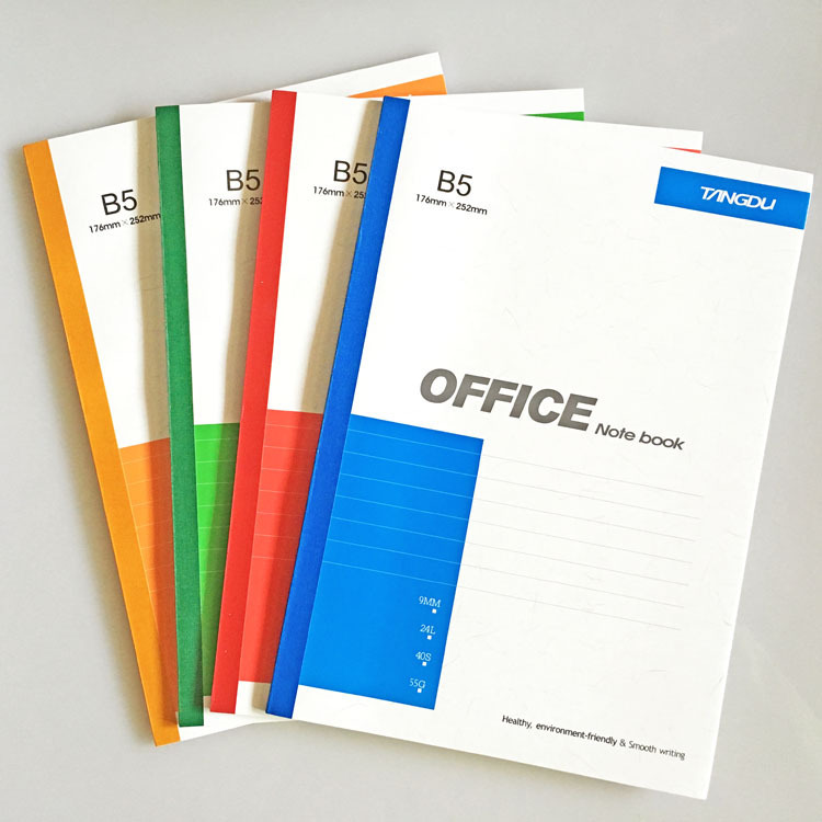 Office supplies B5 Soft face copy notebook Notepad student book stationery wholesale