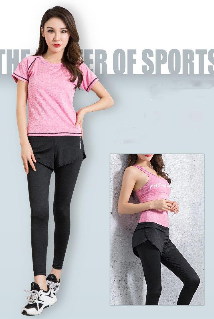 women yoga sets gym suit (8)