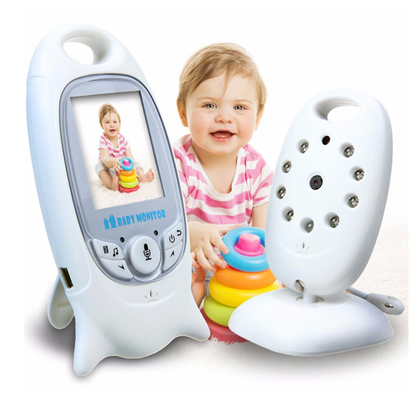 Wireless Baby Monitor 2 inch BeBe Baba Electronic Babysitter Radio Video Nanny Camera Night Vision Temperature Monitoring VB601 цены