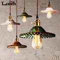 High Quality Glass Pendant Light LED Bar Cafe Bedroom Restaurant Decoration Lamp Nordic style of modern art light AC110-220V