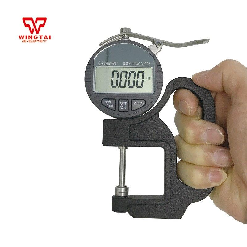 0~25mm Digital Display Micrometer paint thickness gauge BY04 thickness gauge meter0~25mm Digital Display Micrometer paint thickness gauge BY04 thickness gauge meter