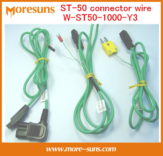 Fast Free Ship 3pcs/lot For ST-50 Connector Wire W-ST50-1000-Y3 1 Meter Wire Harness