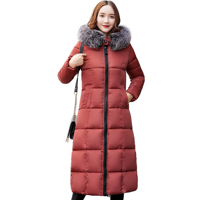 High Quality Female Winter Coat Long Hooded Outwear For Women Womens Winter Jackets Warm Thicken Jaqueta Feminina Inverno