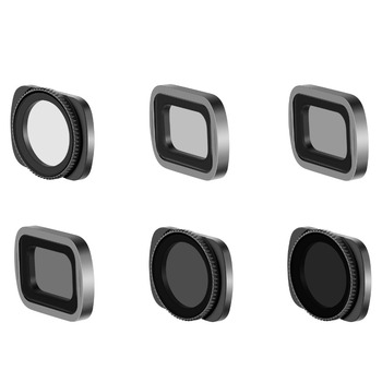 Neewer Magnetic Filter Set for DJI Osmo Pocket Camera Lens, Includes Multi-coated ND4 ND8 ND16 CPL ND32/PL ND64/PL Filters
