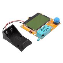 ЖК-дисплей мультиметр LCR-T4 СОЭ метр mega328 M328 Транзистор тестер для DIY Электронные комплект с акриловый чехол