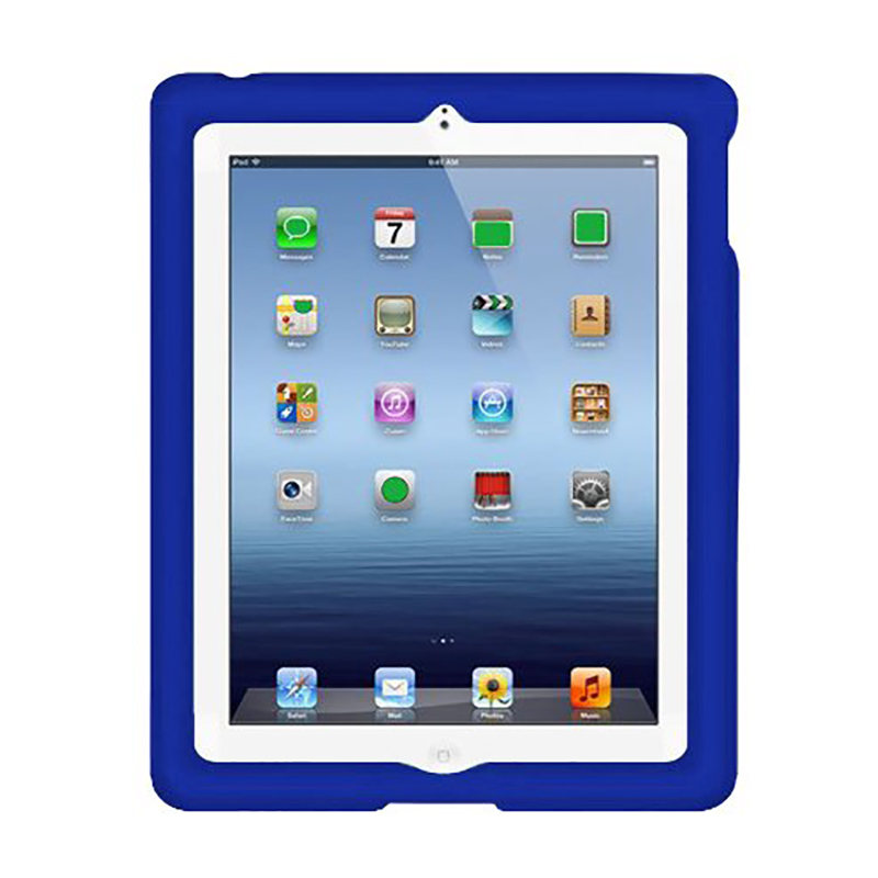 MingShore Heavy Duty Silicone Soft Case For Ipad 2 3 4 9.7inch Rugged Kids Shockproof Cover For Ipad 2 3 4 9.7inch Tablet
