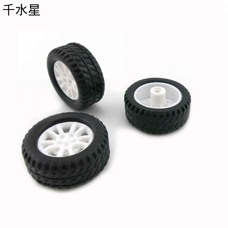 20 * 8 * 1.9 Hollow Rubber Tires Tires Toy Car Wheels DIY