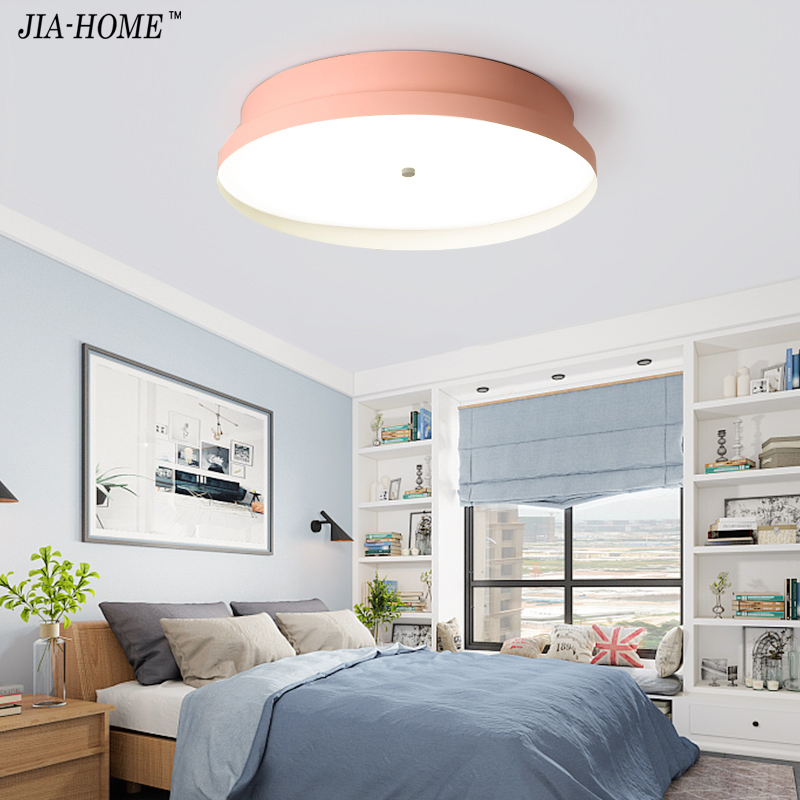 New Arrival LED Ceiling Lights For bedroom Corridor Kids Room Colorful body Ceiling Lamp Light Metal Lampshade Kitchen Lighting