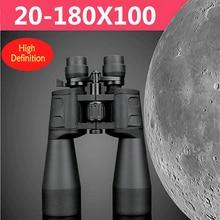 SAKURA 20-180X100 Daljnogledi Hd Zmogljiv vojaški visoki časi Teleskop daljinski zoom Lll Nočni vid za lov Kampiranje pohodništvo