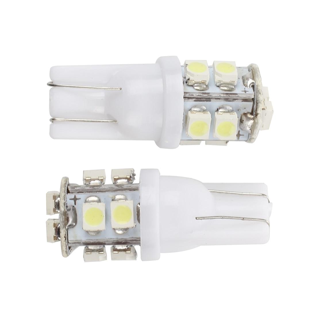 2 x 501 W5W T10 1.5W haute puissance led sidelight intérieur nouveau rouge ampoule c