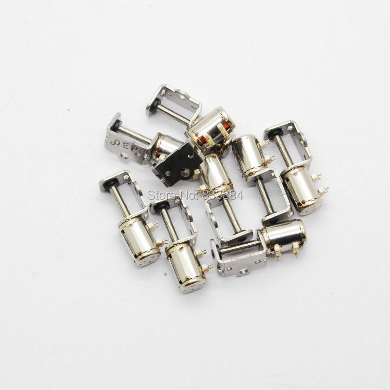Hot Sale 50pcs 4 Wire 2 Phase Micro Stepper Motor Dia 6mm