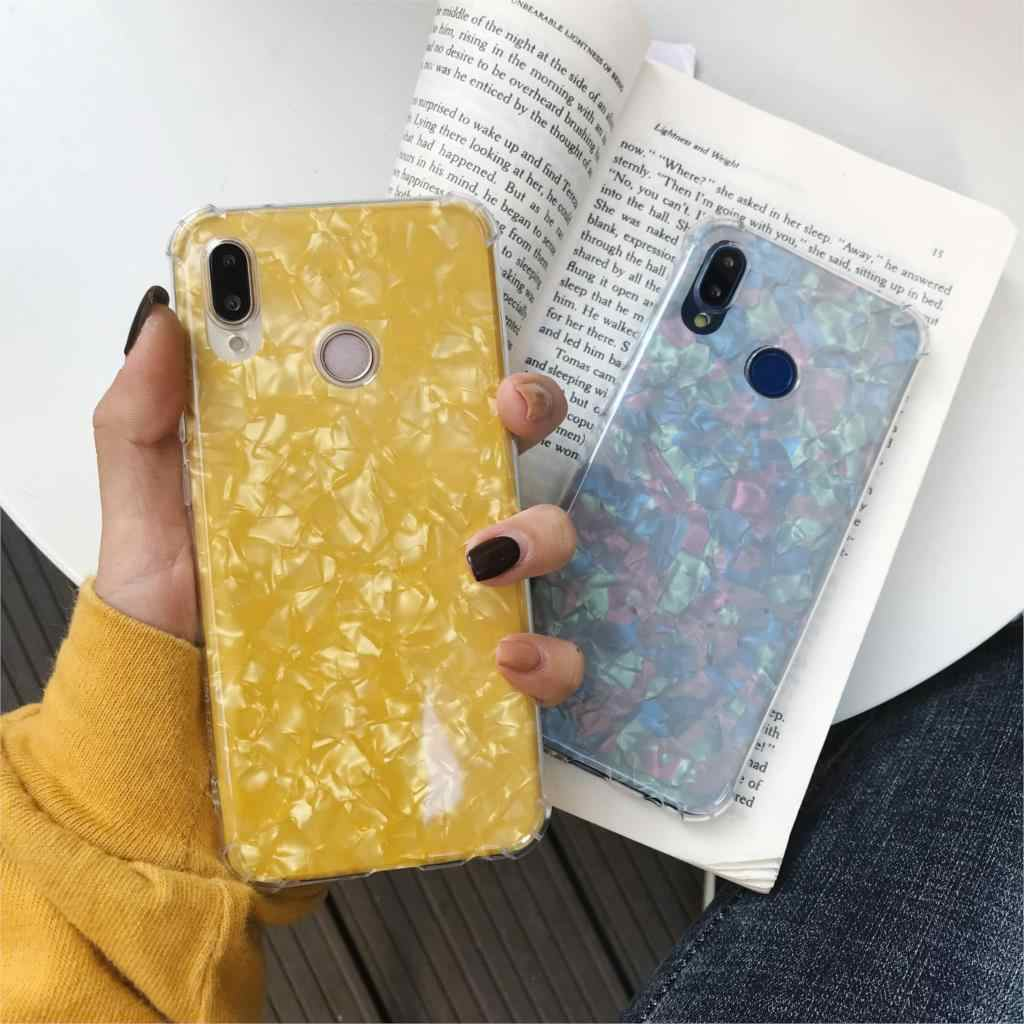 Super Shockproof Clear Soft Marble TPU Case For Huawei P20 Pro P10 Mate 20 10 Lite Honor 9 8X 7X 6X 7A 7C Y5 Y6 Prime Y7 Y9 2018