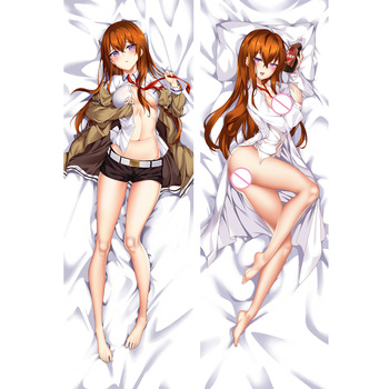 MGF Steins Gate Dakimakura anime pillow cover Makise Kurisu Shiina Mayuri R18 body Pillowcase