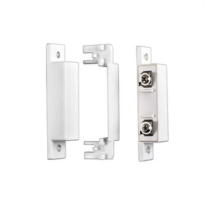 Image 2 - Fuers Wired Door Window Magnetic Sensor Switch for PSTN GSM Alarm System Q2 GSM10A 8218G G2 Connect GND and N.C Ports Directly