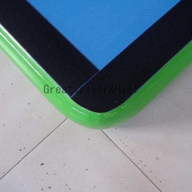 Chine fait à la main facile à transporter tapis de gymnastique durable entraînement air piste à vendre 20m x 2m x 20cm