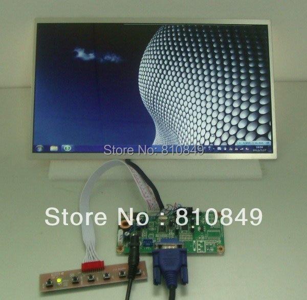 Placa VGA driver + 12 polegadas HSD121PHW1 WXGA lcd 1366*768 led backlight para o modelo de laptop de tela lcd para Raspberry Pi