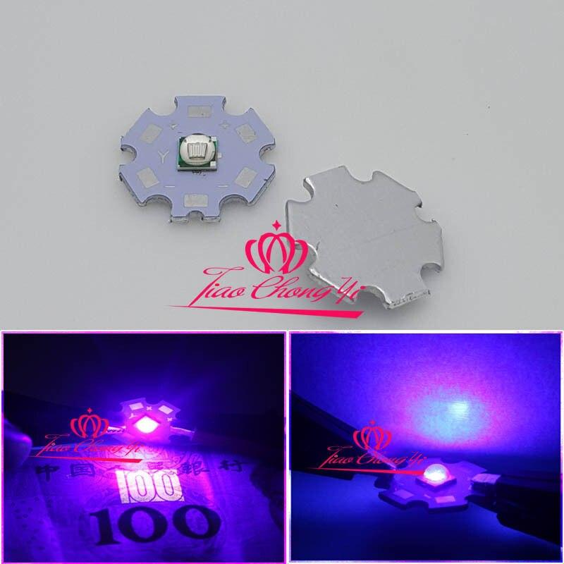 10PCS T6 10W 5050 UV Ultra Violet 395 400nm SMD LED Emitter Diode 3.2V 3A|diode 3a|diode leddiod 5050 - title=