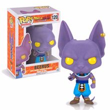 Dragon Ball Z super saiya BEERUS Funko POP PVC Action Figure Collectible Modelo brinquedos para chlidren Presente de aniversário(China)