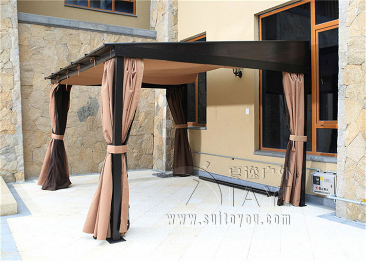 3*3.6 meter grace PC board canopy high quality durable garden gazebo outdoor tent sun shade pavilion furniture house 3 3 6 meter pc board high quality durable garden gazebo grace outdoor tent canopy fashion aluminum sun shade pavilion