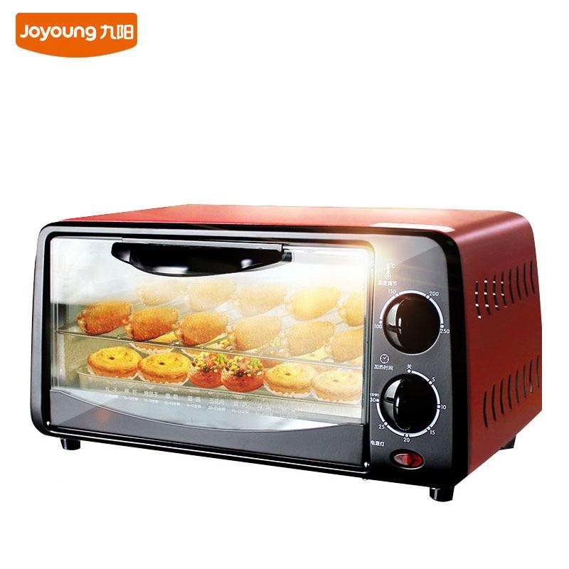 10L Mini-maison four électrique cuit gâteau Pizza viande légumes en acier inoxydable multifonction nouveauté four de cuisson électronique