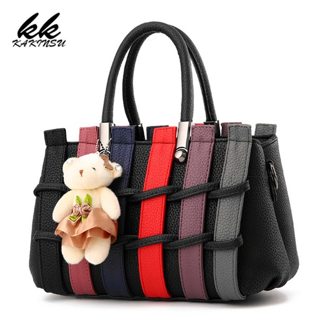 Famous Brands 2018 Hot Sold Women Messenger Bags Casual Tote Luxury Classical Design Good Quality Pu
