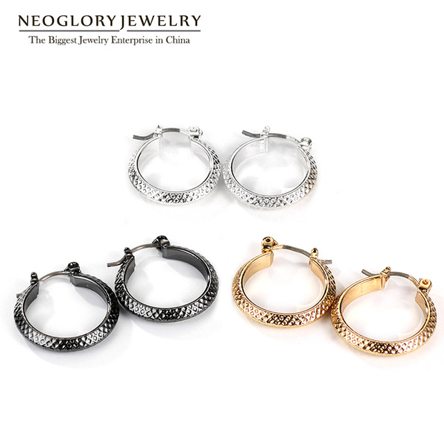 neoglory multiple pairs large wholesale circle earrings round sets jewelry three hoop item fashion women for