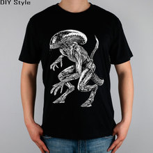 AVP ALIEN VS predator T-shirt Top Pure Cotton Men T shirt New Design High Quality