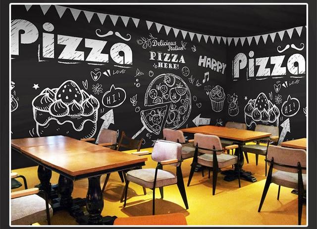 online-shop bäckerei pizza cupcake klassische 3d fototapete mural, Hause ideen